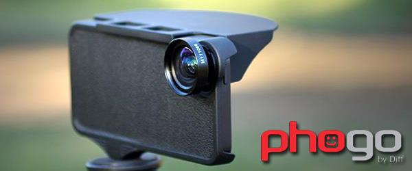 カメラアクセサリーに幅広く対応三脚穴搭載型iPhone5用ケース及びオプション『Phogo Case for iPhone5』『OUTDOOR SUN SHADE for PHOGO CASE』『3-IN-1 LENS SET for PHOGO CASE』販売開始のお知らせ