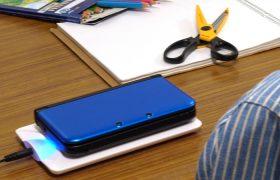 日本初、3DSLLに対応したゲーム機用Qiレシーバー 『置きらく充電レシーバー for 3DSLL』 販売開始のお知らせ