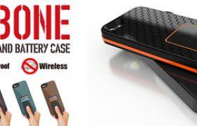 いよいよ予約開始!ワイヤレス充電機能を搭載、米軍MIL規格準拠のiPhone5s/5用タフネスケース『BACKBONE』をいち早くゲットするチャンス!