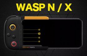 iPhone用ゲーミングコントローラ『WASP N/X』